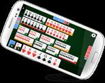 jeu de canasta royale en ligne de ClubDeJeux sur mobile
